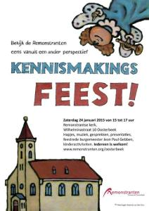 Poster kennismakingsfeest